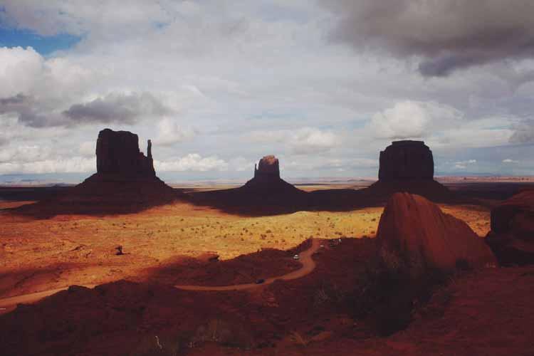 Monument Valley Utah Fringe Frange