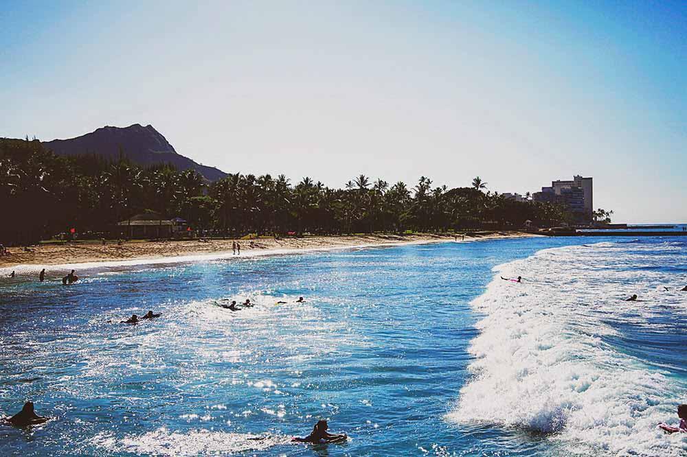 waikiki beach hawaii fringeandfrange