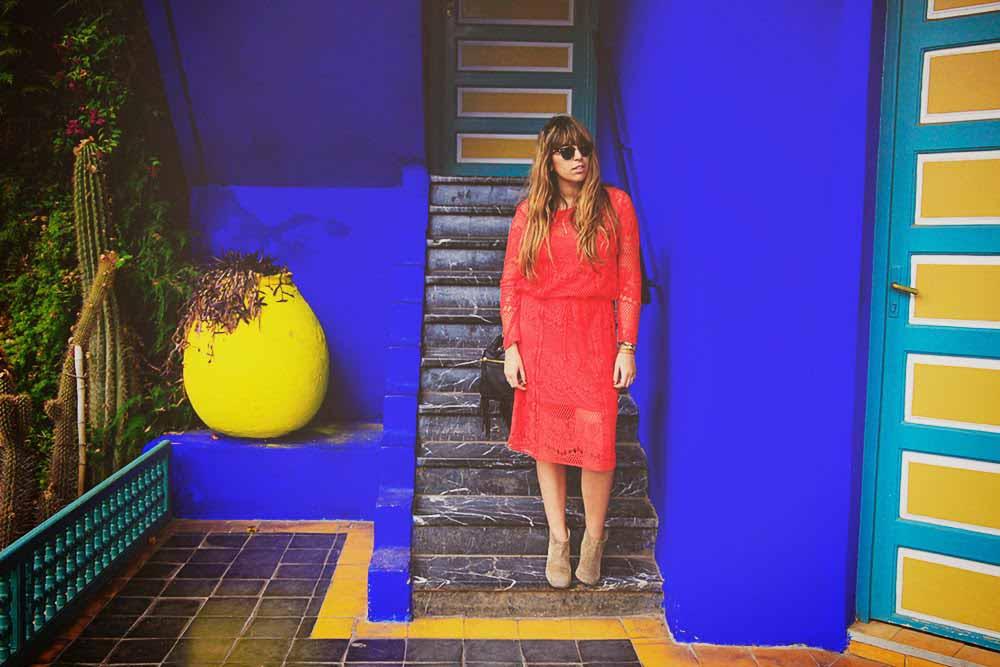 fashion blogger majorelle