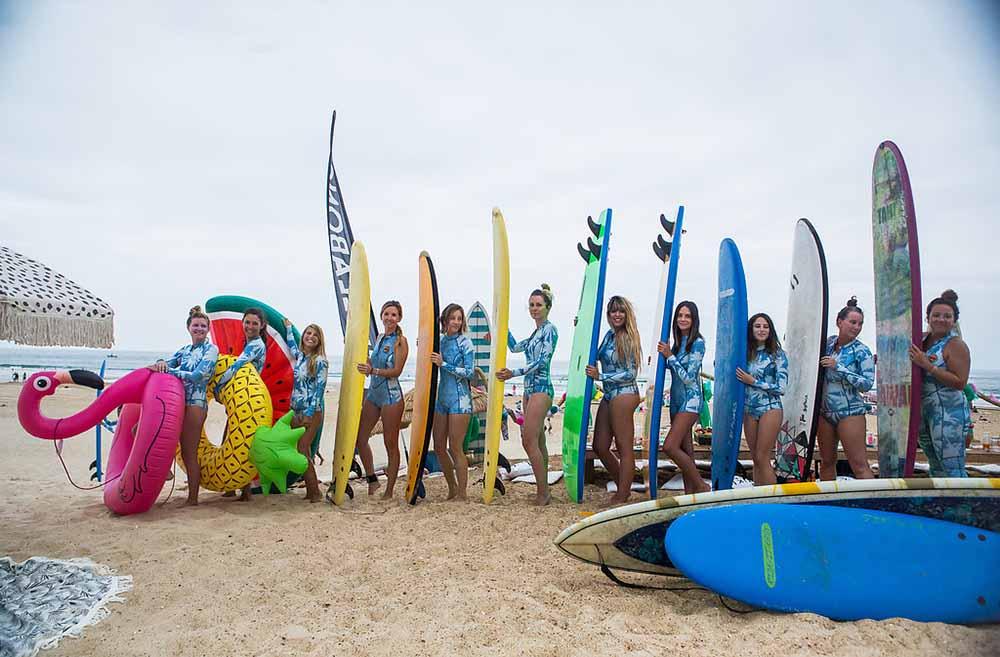 billabong surf capsule event bloggers