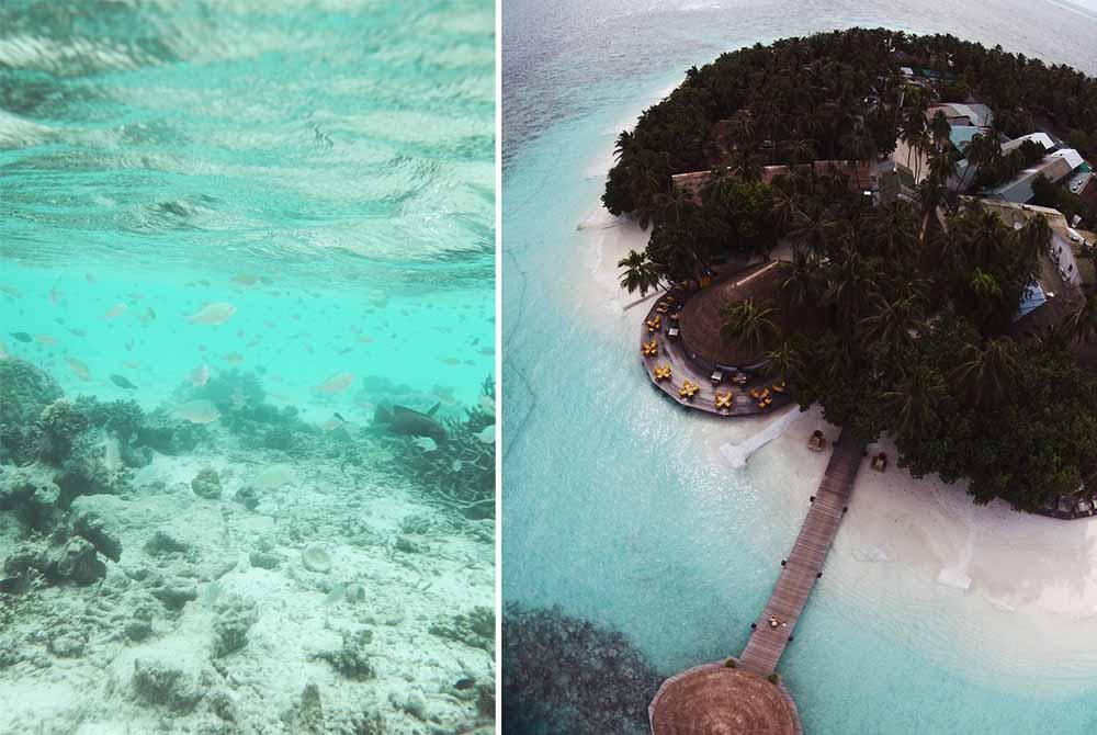 island underwater